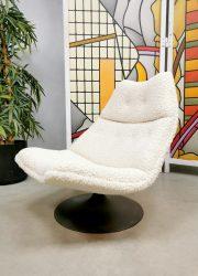 vintage Artifort design ladies swivel chair F511 G. Harcourt