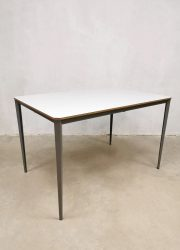Vintage Dutch design industrial office table tafel Wim Rietveld Ahrend de Cirkel