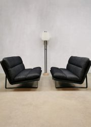 Midcentury Dutch design Artifort 2 seater lounge sofa bank Kho Liang ie C683