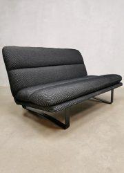 vintage dutch design minimalism kvadrat Artifort bank sofa design loft