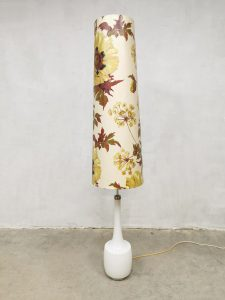 Midcentury design floor lamp sixties vloerlamp 'Flower Power' Bergboms