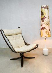 Midcentury design floor lamp sixties vloerlamp 'Flower Power'