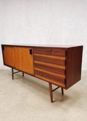 vintage teak sideboard dressoir wandkast retro tv kast