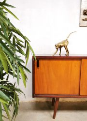 vintage teak sideboard dressoir wandkast.