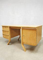 Dutch vintage design Pastoe Cees Braakman desk 1950