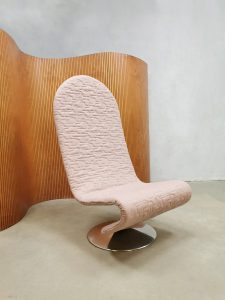 Vintage Danish design easy chair 123 Verner Panton Fritz Hansen