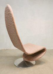Fritz Hansen easy chair 123 lounge fauteuil Verner Panton