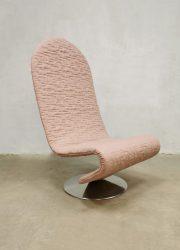 Fritz Hansen easy chair lounge fauteuil Verner Panton