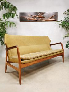 Midcentury Dutch design sofa bank Bovenkamp Aksel Bender Madsen