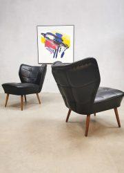 vintage retro cocktail stoel chair clubfauteul expo chair Artifort