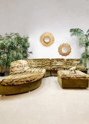 Midcentury modulair sofa elementen lounge bank 'Urban Jungle'