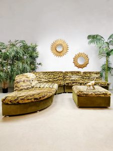 Midcentury modulair sofa elementen lounge bank 'Urban Jungle'
