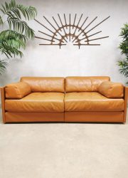 Vintage Swiss design leather modular sofa lounge bank DS-76 De Sede