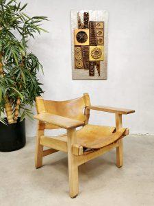 Midcentury design Spanish chair Borge Mogensen Fredericia
