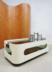Vintage Italian design coffee table 'Space age' salontafel