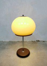 Midcentury Dutch 'Mushroom' design table lamp tafellamp Dijkstra