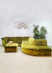 vintage Laauser sofa modulaire bank jaren 70 1970