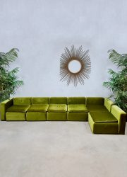 Midcentury design modular sofa elementen bank Cor Team Form AG
