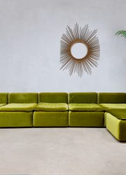 vintage German design modular sofa elementen bank Cor Team form AG