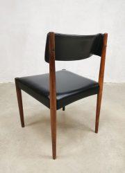 Vintage dinner chair eetkamerstoel Aksel Bender Madsen voor Bovenkamp jaren 60 danish design deens ontwerp