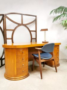 Dutch design writing desk bureau 'Art Deco style' Dick Dankers Frozen Fountain