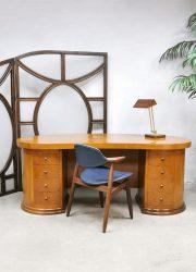 Dutch design writing desk bureau 'Art Deco style' Dick Dankers Frozen Fountain