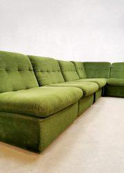 vintage retro lounge bank elementen modulair