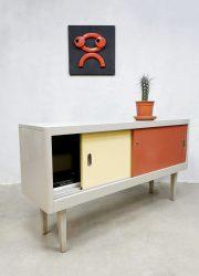 Vintage Industrial sideboard cabinet industrieel dressoir Ahrend Holland