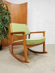 Swedish vintage rocking chair schommelstoel Inge Andersson brothers