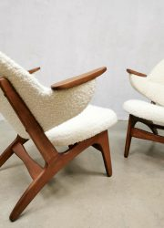 Vintage design easy chair lounge fauteuil Carl Edward Matthes armchair design icon