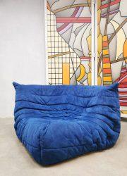 Vintage hoekelement lounge stoel