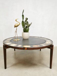 Vintage design coffee table salontafel agate Heinz Lillenthal
