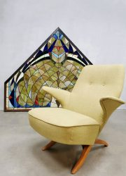 vintage dutch design pinguin chair Theo Ruth Artifort