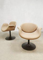 Vintage design Pierre Paulin Artifort little tulip chair