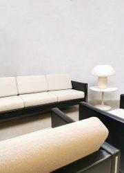 Vintage design lounge set sofa armchair driezitsbank club fauteuil Pierre Paulin Artifort model 442