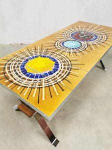Vintage sixties tile table coffee table s