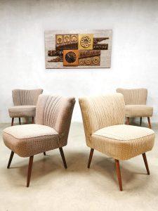 design cocktail stoelen stoel club fauteuil vintage