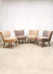 sixties bestwelhip Vintage cocktail stoelen stoel club fauteuil vintage