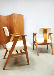 bestwelhip midcentury vintage Dutch design armchairs lounge stoelen Cees Braakman Pastoe style-2