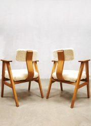 retro design arm chairs stoelen vintage Pastoe style