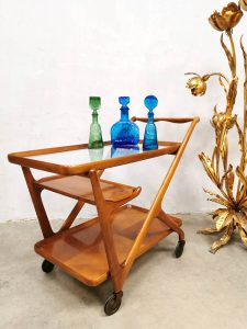 serving Trolley by Cesare Lacca for Cassina 1950s