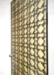 doors hotel fiberglass vintage midcentury design