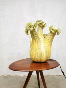 sculptural light vintage design ayala serfaty acqua creations style table lamp
