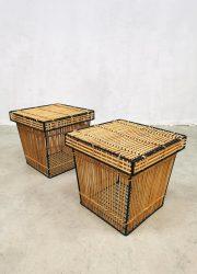 rattan storage box rohe netherlands 1960 opbergmand-1