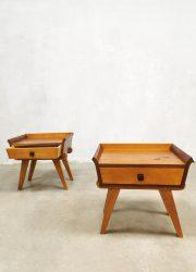 bestwelhip vintage dutch design night stands cabinet nachtkastjes-teak-1