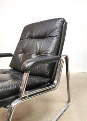 gerd lange Stahlmoebel 495 stoel fauteuil
