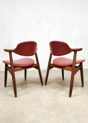 eetkamerstoelen bestwelhip vintage midcentury design cowhorn dining chairs hulmefa koehoorn stoelen