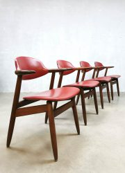 koehoorn stoelen vintage midcentury design cowhorn dining chairs hulmefa