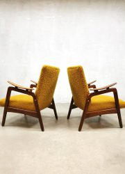 vintage design easy chairs lounge fauteuil retro