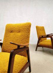 vintage lounge stoelen relax chairs fifties sixties design armchair